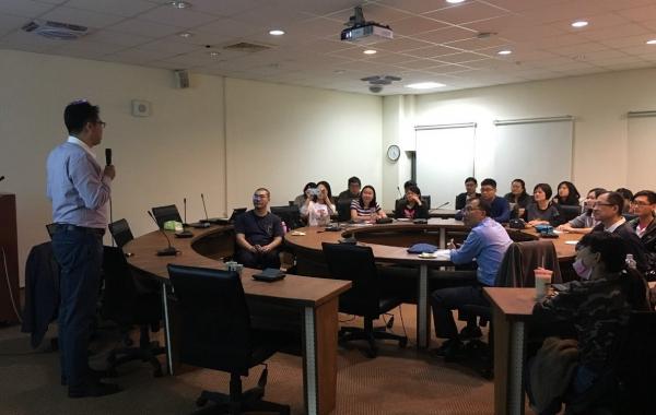 2018/11/26-11/30日本政策大學院大學(Grips)邢予青教授來訪並進行學術交流