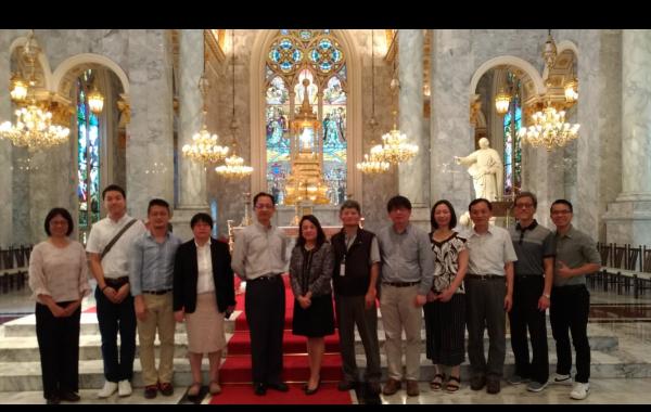 2019/03/13拜訪泰國易三倉大學並進行學術交流