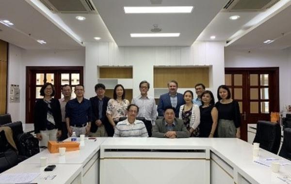 2019/12/11-14 陳建良院長率領系主任們參訪越南